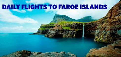 Daily flights to Faroe Island